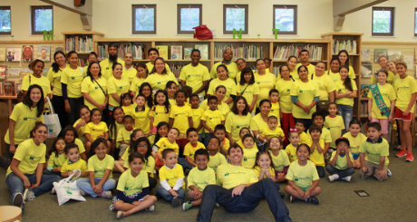 10BH Summer Family Reading participants